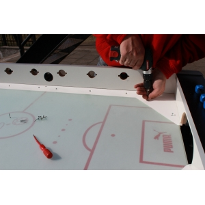 Custom playfield print & installation