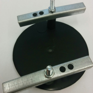 Plastic cover for coin/token mechanism hole