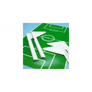 Corner Set for Playfield Garlando Football Table (laminate playfield)