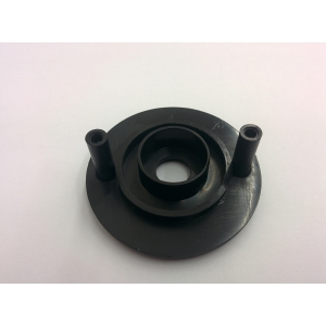 Bushing for telescopic bar for 25mm thick cabinet