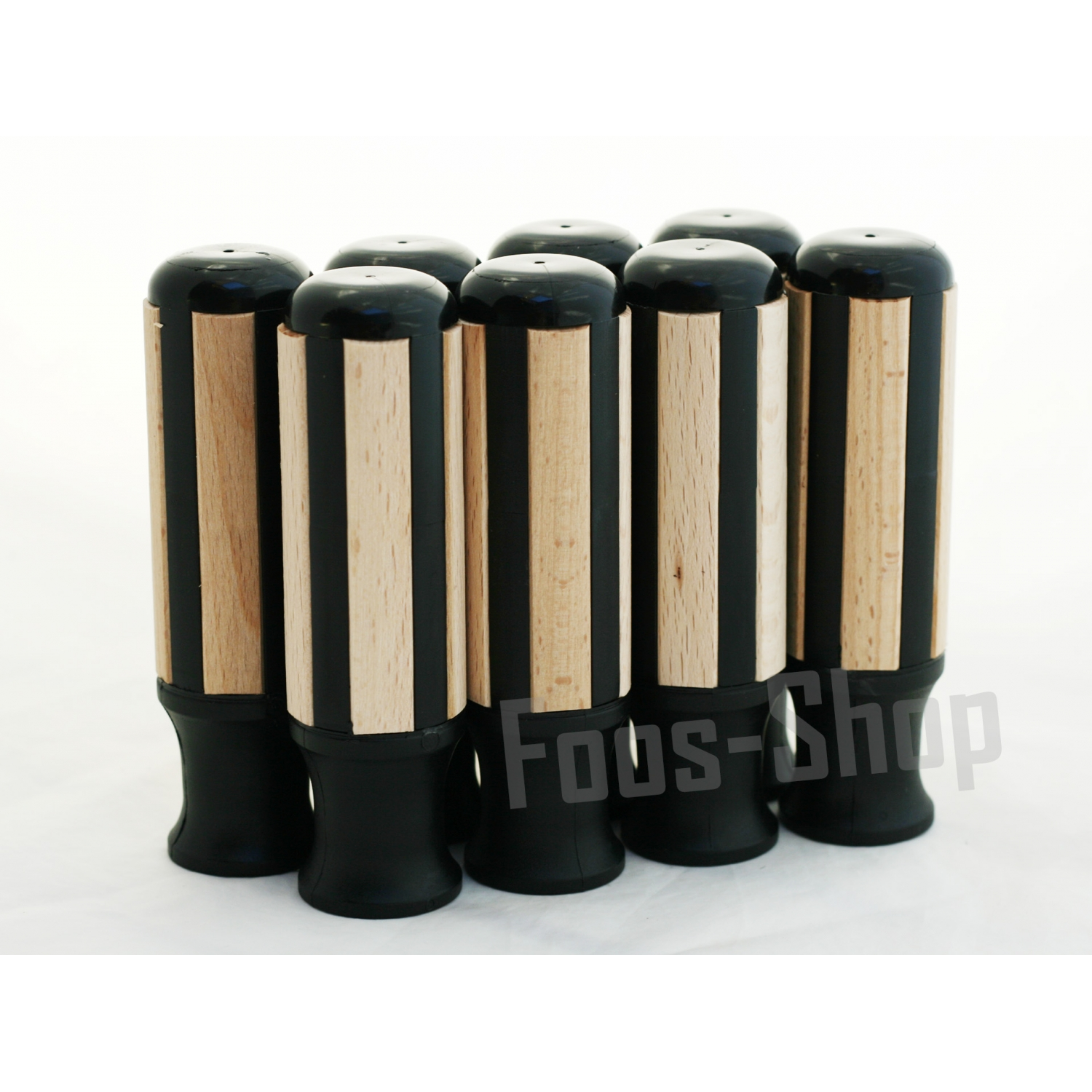 Garlando Wood Plastic Handles Set 8 Foos Shop